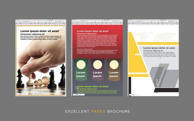 Brochure template for pages brochure template for pages for Brochure template mac