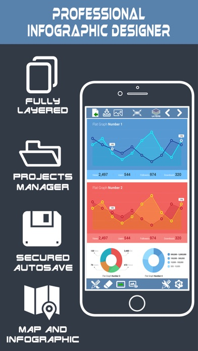 infographic and poster creator graphic maker on the app store