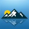 Altímetro Ligero Para Viajes Lite - Altitud y mapa de elevación GPS - Brújula - Barómetro