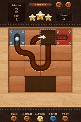 Roll the Ball® - slide puzzle screenshot 1