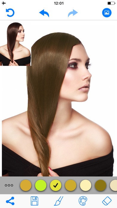 download Hair Color Changer Salon Booth apps 0
