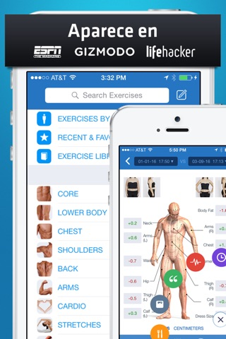 Fitness Buddy+: Gym Workouts screenshot 1