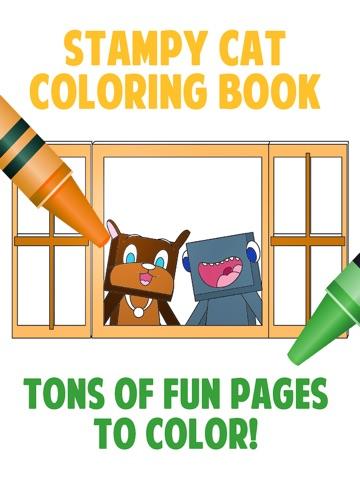 Screenshot 1 2 3 Stampy Cat Coloring Book