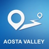 Aosta Valley, Italy Offline GPS Navigation & Maps