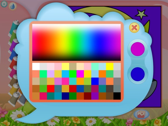 Игра Феи - Рисование по номерам - Раскраска для девочек
