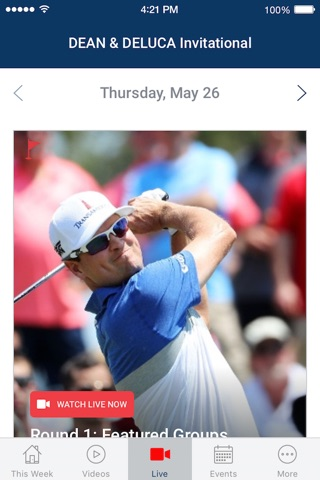 PGA TOUR LIVE screenshot 3