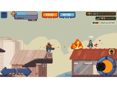 Скачать игру Gangfort - Online 2D Platformer Shooter