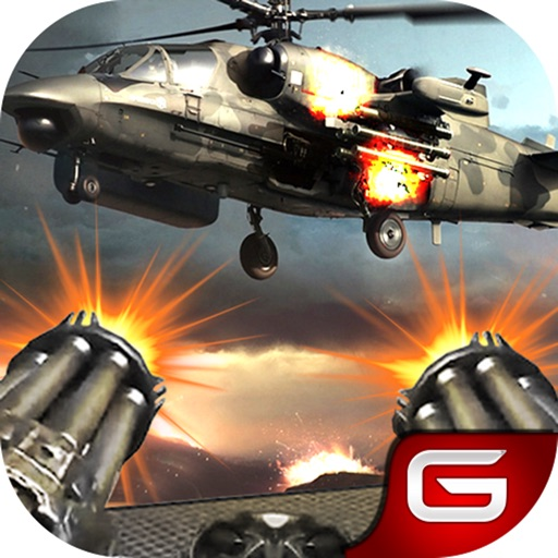 Gunship Air Helicopter Battle : Gunner Strike iOS App