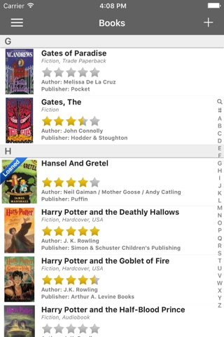 iCollect Books -- Bookshelf List Manager, Collector, Organizer & Inventory Database Buddy screenshot 1