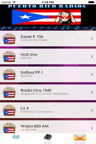 A+ Puerto Rico Radio Online - Radios Puerto Rico screenshot 2