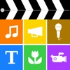للاي فون / آي باد / آي بود Videocraft - Video Editor, Photo Slideshow & Movie Maker. Multi Track Timeline HD Video Editing. تطبيقات