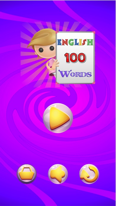 100 First Easy English Words