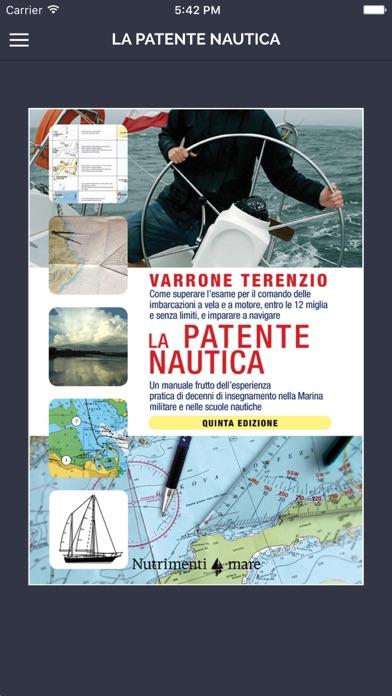 Screenshot of Manuale per la Patente Nautica - Vela entro 12m1