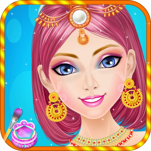Indian Girl Makeover Salon iOS App