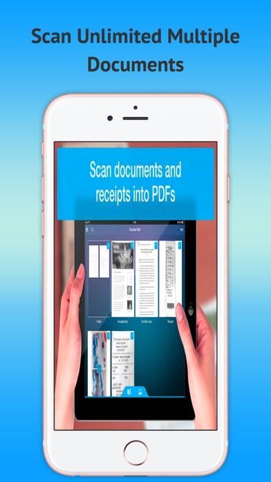 Mobile Scanner OCR - PDF gratuitCapture d'écran de 2