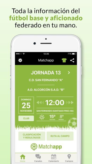 download Matchapp - Calendario, resultados de tu Federación apps 3