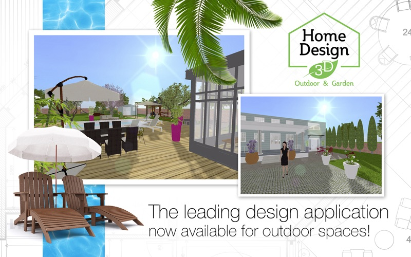 Home design 3d outdoor garden app download android apk for Home outside design app
