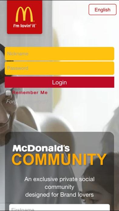 Screenshot for McDonald's Community in United Arab Emirates App Store