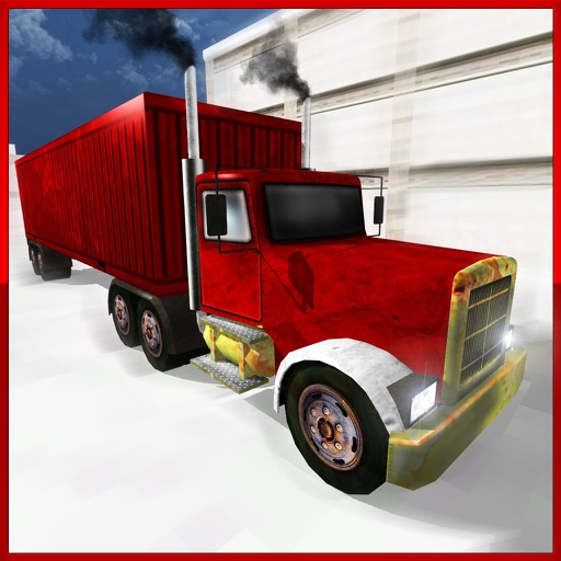 Real Euro Truck Driver Simulator 3D - Drive Heavy Duty Real Trucks in Urban City and be the Best Truck Driver iOS App