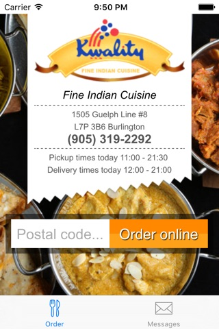 Kwality Fine Indian Cuisine screenshot 2