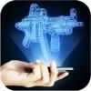 Hologram Weapon 3D Simulator