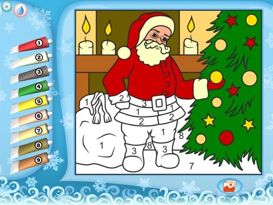 Скачать игру Раскрась по номерам – Рождество - Бесплатно