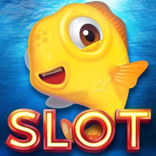 Yellow Fish Golden Slots - Play 777 Double Up Slot in Las Vegas Casino City iOS App