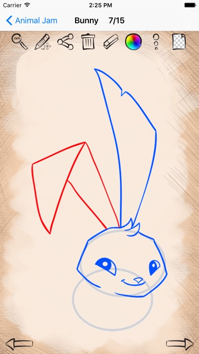Learn how to draw for animal jam edition on the app store iphone screenshot 4 ccuart Choice Image