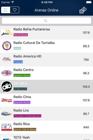 Radio Costa Rica - FM / AM screenshot 2