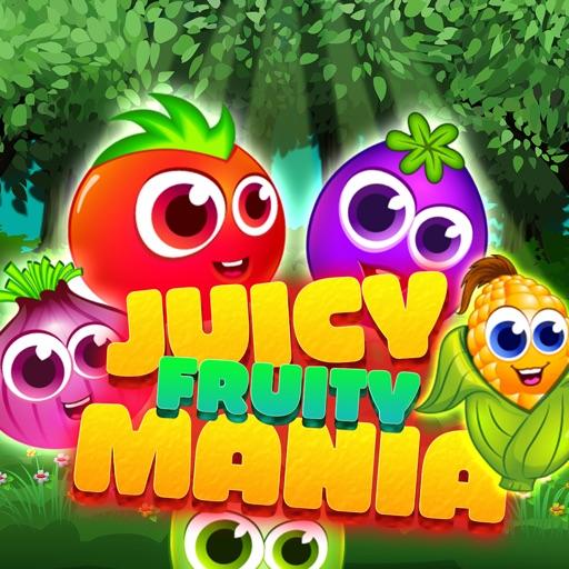 Juicy Fruity Mania - Super Amazing Match 3 Puzzle iOS App