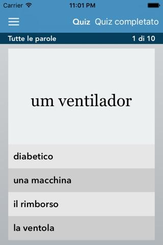 Italian | Portuguese - AccelaStudy® screenshot 3
