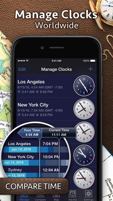 World Clock Pro review screenshots