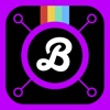 Bend  - When you want to add Curved Text, Custom Typography & Fonts, Special Filters, Doodles and Frames to your Pics!