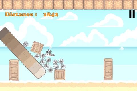 Snowman in Summer - The Jumping Fellow Adventure Game Paid screenshot 2