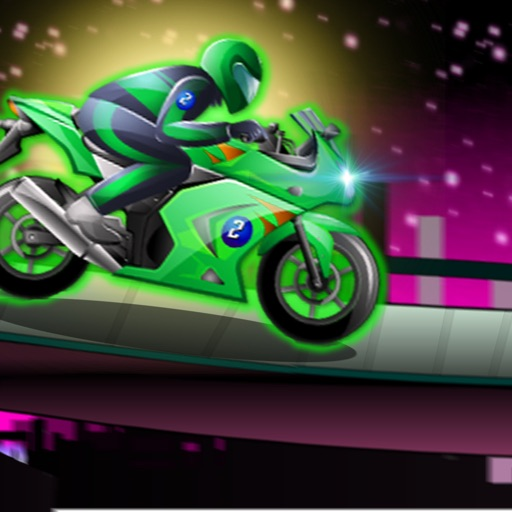 Super Futuristic Track Motorcycles - Vibrant Speed iOS App