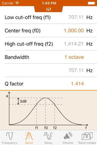 AudioCalc screenshot 2
