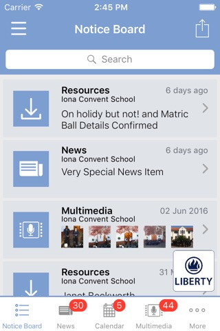 Iona Convent School screenshot 1