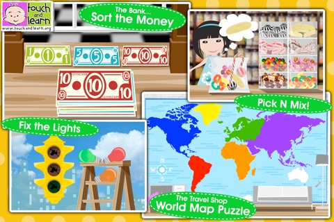 Fun Town for Kids Free - Creative Play by Touch & Learn screenshot 4