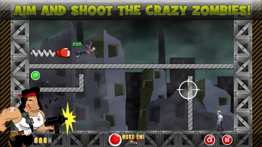 Crazy Zombies Game Screenshot