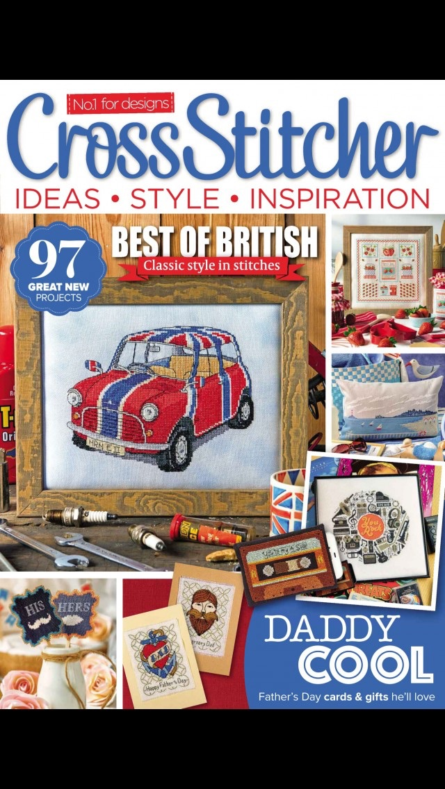 download CrossStitcher Magazine | stitching and colourful designs in home furnishings apps 0