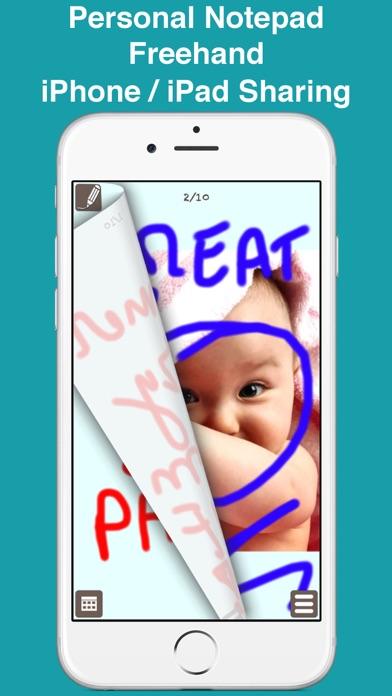 Screenshot of PocketJot - freehand notepad1