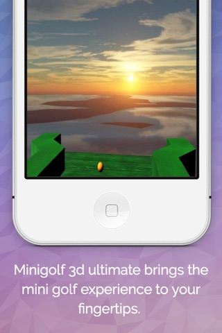 Minigolf 3D Ultimate screenshot 2