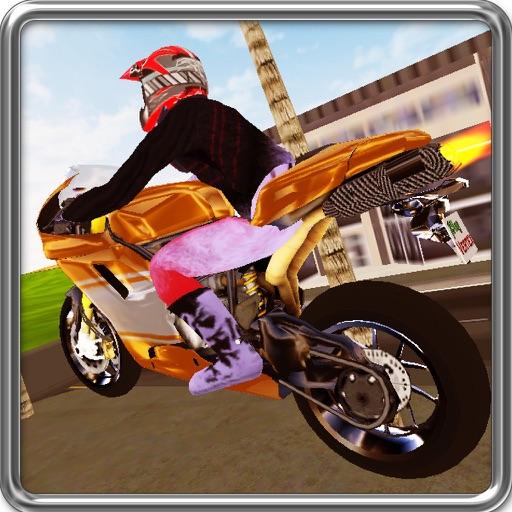 Crazy Motorbike Stunts iOS App