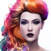 ヘア色変化アプリ - 試すさまざまなシェイプそしてヘアスタイルとともにかつら