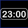 Simple Digital Clock : horizontal digital time, brightness, color and font changeable digital