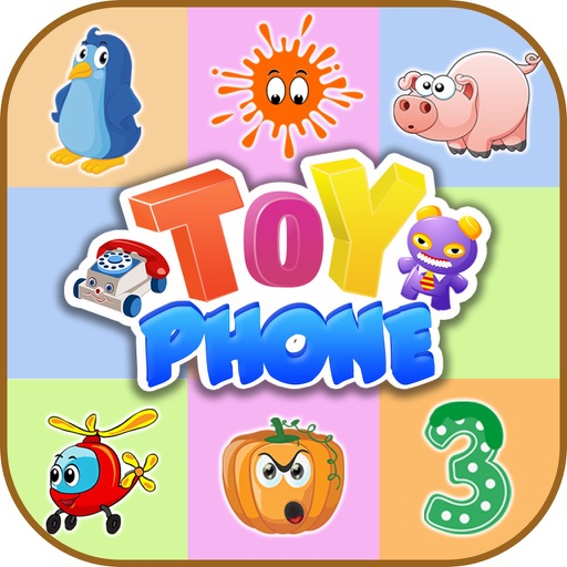 Toy Phone For Toddlers - Educational Free Game iOS App