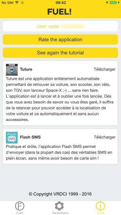 Captura de ecrã do iPhone 3