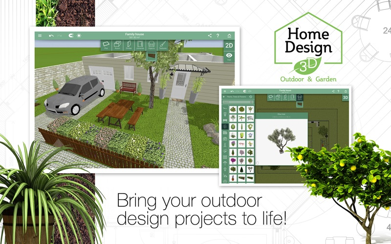Home design 3d outdoor garden by anuman for Home design 3d paid version apk