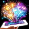 Fireworks: Augmented reality game. Celebrate!