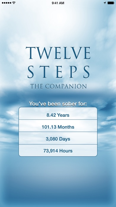12 Steps Companion Screenshot